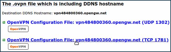 OpenVPN client – Keenetic