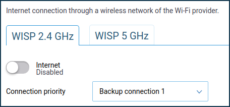 Internet connection via Wi-Fi (WISP) – Keenetic