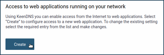 An example of remote access to home network resources with